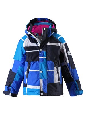 Куртка синьо-чорна | 1422434