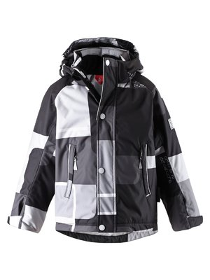 Куртка сіро-чорна | 1422435