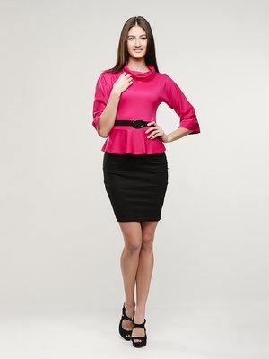 Сукня малиново-чорна | 1429224