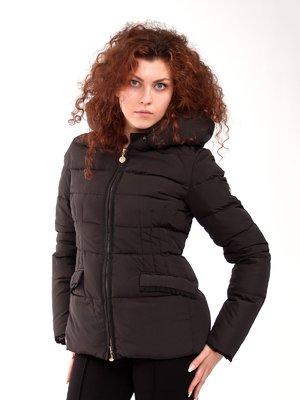 Куртка пухова чорна | 1400813
