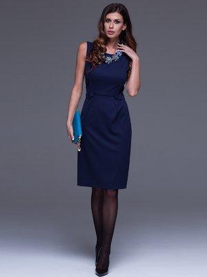 Платье темно-синее | 1434412
