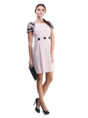 Сукня рожева з декором | 1433366