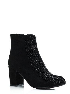 Ботинки черные декорированные | 1445807