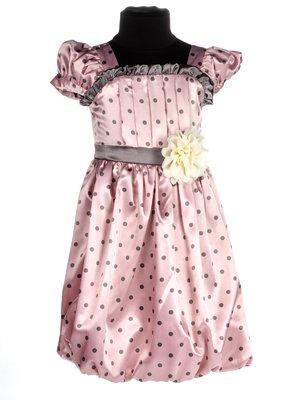 Сукня рожева в горошок | 3343243