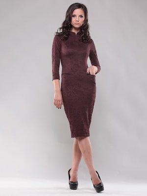 Платье шоколадного цвета | 1469217