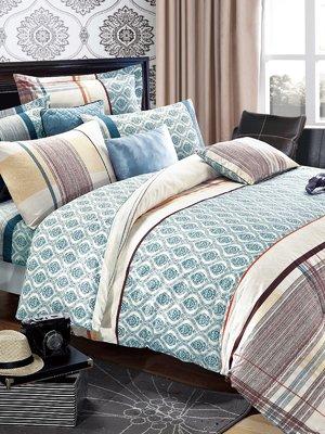 Комплект постельного белья полуторный | 904333