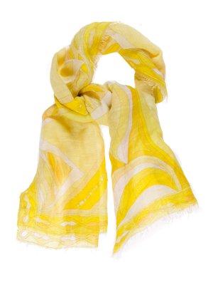 Шарф желтый   720227