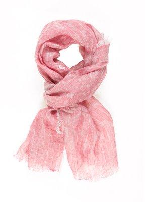 Шарф рожево-білий | 973893