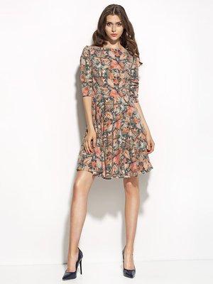 Платье абстрактной расцветки | 1519016