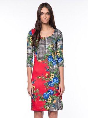 Сукня комбінованого забарвлення | 1525742