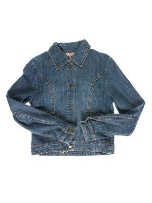 Куртка синяя джинсовая | 1466713
