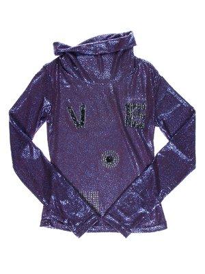 Гольф фіолетовий з декором | 1504858