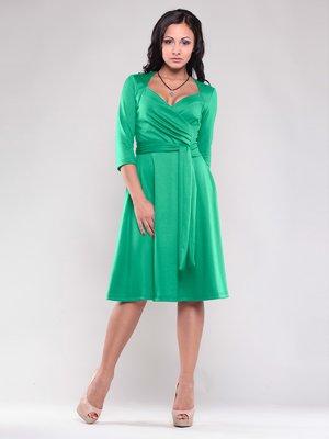 Платье зеленое | 1545315