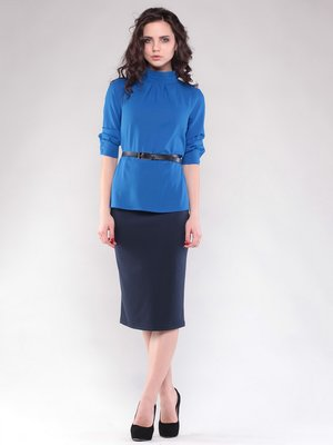 Блуза цвета электрик | 1549896