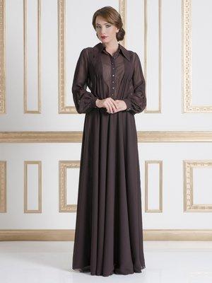 Платье коричневое   1551801