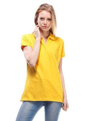 Футболка-поло жовта | 1560103