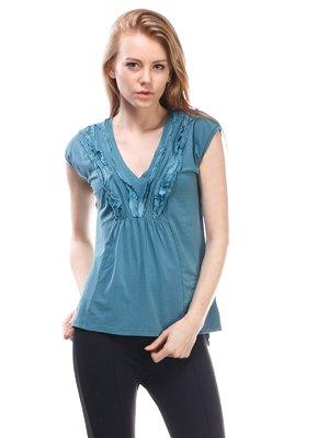 Блуза зеленая | 1560113