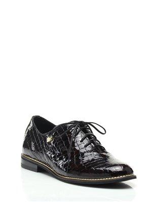 Туфлі темно-бордові | 1573435