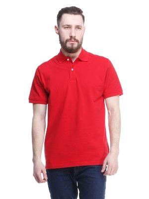 Футболка-поло червона | 1577501