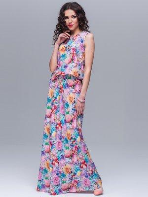 Сукня квіткового забарвлення | 1593611