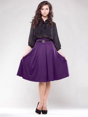 Юбка фиолетового цвета | 1593247