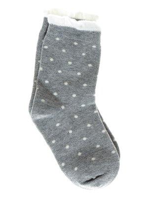 Шкарпетки сірі в горох | 1594014