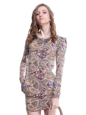 Платье в орнамент | 1615480