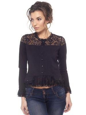 Блуза черная | 1617378