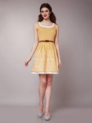 Платье желтое | 1579192