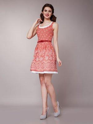 Платье светло-красное | 1579194