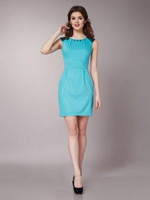 Платье бирюзовое | 1579233