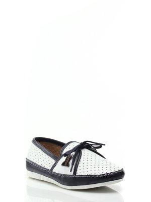 Туфли черно-белые | 1631987