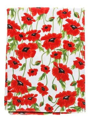 Скатерть круглая «Красный мак» (150 см) | 1627970