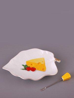 Блюдо «Сыр» с вилкой | 1641033