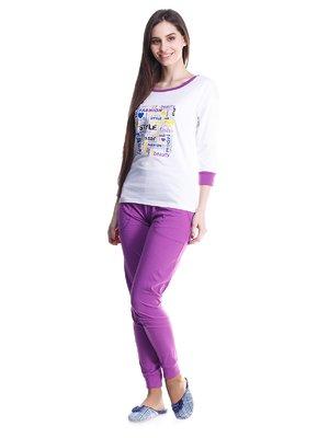 Піжама: лонгслів і штани | 1381420
