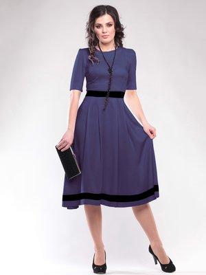 Сукня чорнильного кольору | 1647145