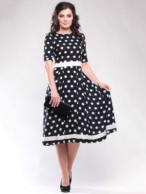 Сукня чорна в горох | 1647150