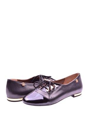 Туфли черные с декором | 1653576