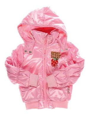 Куртка розовая с капюшоном   1651437