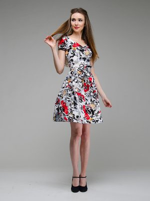 Сукня квіткового забарвлення | 1659333