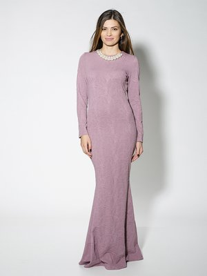 Сукня рожева у візерунок | 1664479