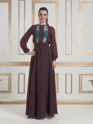 Платье коричневое   1683460