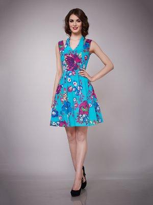 Платье бирюзовое | 1695023