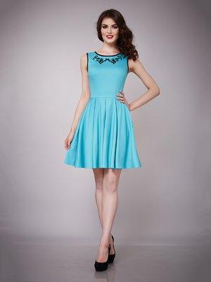 Платье бирюзовое | 1695042