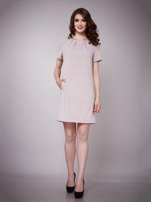 Платье бежевое | 1695044