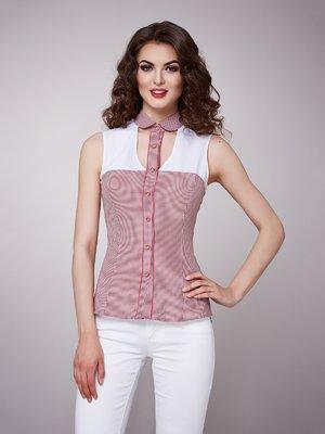 Блуза клетчатая | 1579237