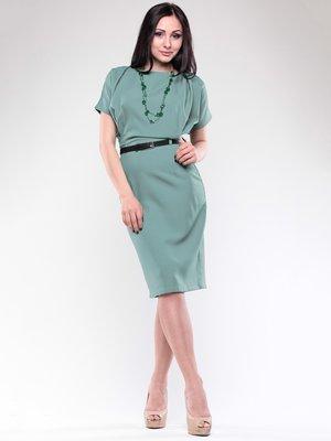 Платье оливкового цвета | 1706822