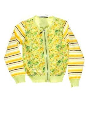 Кофта желто-зеленая | 1726927