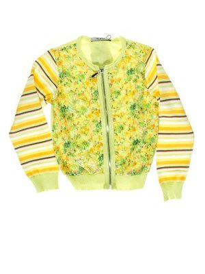 Кофта жовто-зелена | 1726927