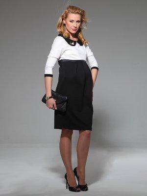 Платье черно-белое | 1734135